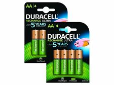8x duracell ultra aa double a 2500mAh batterie rechargeable piles 81535767