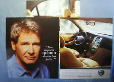AUTO2000-PUBBLICITA'/ADVERTISING-2000- LANCIA LYBRA testimonial HARRISON FORD