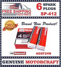 Set of 6 pcs Motorcraft Spark Plug SP412 AGSF24N