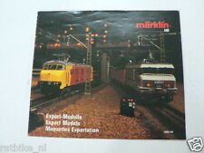 MARKLIN HO TRAINS CATALOGUE 1989/90 NETHERLANDS,BELGIUM,LUXEMBURG,FRANCE,SUISSE,