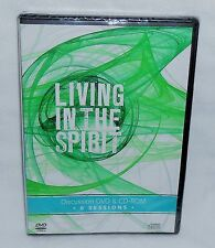LIVING IN THE SPIRIT DVD + CD Set Gopsel House Pub GPH 8 Sessions Discussion NEW