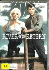 River of No Return DVD Marilyn Munroe Robert Mitchum Brand New Plays Worldwide
