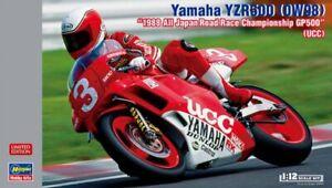 Hasegawa 21734 1/12 Scale Model Kit UCC Yamaha YZR500 0W98 GP500 1988