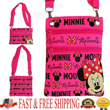 Disney Passport Bag Minnie Mouse Glam Passport Bag Original