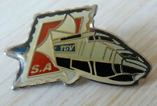 PIN'S TRANSPORT TGV TRAIN SNCF LA POSTE TIMBRE