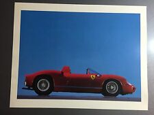 1966 Ferrari 206 S Coupe Print, Picture, Poster RARE!! Awesome L@@K