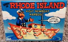 "Alf Rhode Island State 2"" x 3"" Fridge or Locker MAGNET 80's Television Card"