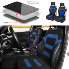 2pcs T shirt Design Front Car Seat Covers Auto Seat Protector Polyester Fabric