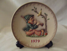 1979 Hummel Goebel 9th Annual Collector Plate Hand Painted Hum 272 W. Germany Ec