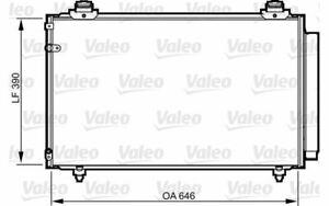 VALEO Condensatore climatizzatore 814211 - Auto Pezzi Mister Auto