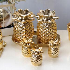 Artificial Pineapple Figurine Decorative Tropical Fruit Model Ornament