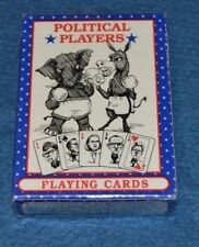 Vtg Political Players Playing Cards JESSE NEWT PEROT CLINTON POWELL SEALED!