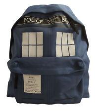 Doctor Who Tardis Zaino Zaino-ideale per la Palestra, scuola o ufficio-NUOVO