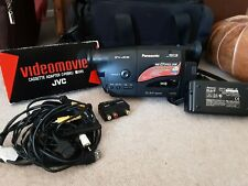 Panasonic NV-RX15 VHS-C Slim Palmcorder Video Camcorder w/Charger,  & carry case
