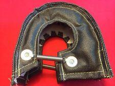 Turbo Blanket Heat Shield Barrier Turbocharger Cover Wrap T3 T25 T28 GT25 Black