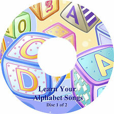 Learn the Alphabet - Sing-A-Long - Children's Songs on 2 CDs Fun Learning