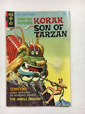 Korak Son of Tarzan #22  VF-  Gold key comic 1968 Painted cover