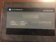 ALLEN BRADLEY DECODER SINGLE FOR BAR CODE SYSTEM 100-240VAC 55 2755DS1A