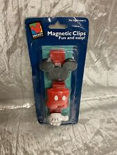 Micky Mouse Magnetic Clips New Applause Disney
