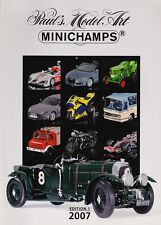 Paul's Model Art Minichamps Model Catalogue all Scales Diecast 2007 - Edition 1