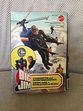 MIB MISB MOC BIG JIM MATTEL GYROCOPTER & DETECTION BACKPACK VINTAGE # 5140