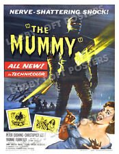 THE MUMMY LOBBY CARD POSTER OS 1959 CHRISTOPHER LEE PETER CUSHING HAMMER FILM