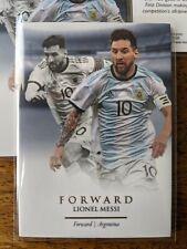 2020 Futera Unique LIONEL MESSI Four (4) Card Lot! ARGENTINA