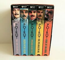Poirot: The Movie Collection (VHS, 2001, 5-Tape Set)