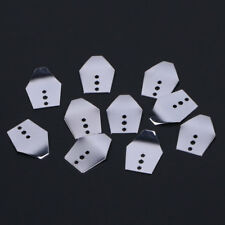 10pcs Fishing Swim Jig Blade Sheet Stainless Steel Breakwater Bait Accessories