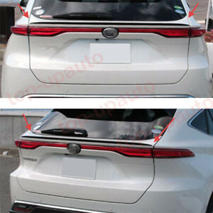 For Toyota Venza 2021-22 ABS Carbon Fiber Rear Door Tail Trunk Spoiler Wing Lip