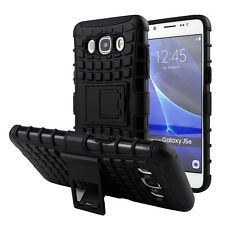 KICKSTAND ARMOR HYBRID BACK COVER CASE FOR SAMSUNG GALAXY J2 Ace (2017)
