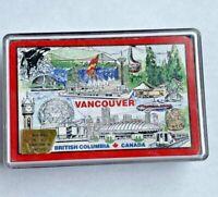 Vtg British Columbia Playing Cards Vancouver Canada Made Hong Kong tourist 90's