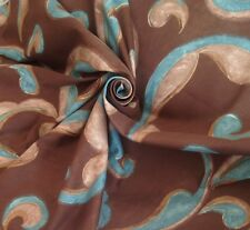 21 Metres Prestigious Textiles 'Marano' Curtain & Upholstery Fabric In Chocolate