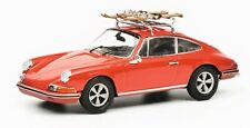 Schuco Porsche 911 S with Ski Carrier Red 450258700 1:43