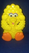 Vintage 6in Tyco Preschool Peek a Boo Wind Up Big Bird Toy