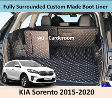 KIA Sorento 2015-2020 Full Surrounded Custom Made Trunk Boot Cargo Mats Liner