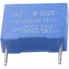 6 ST pi entstörkondensator MKP y2 2200pf 2,2nf 300vac rm10 RoHS conformi Merce Nuova
