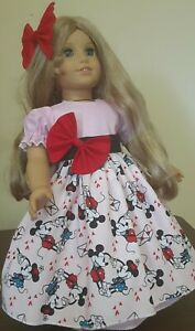 DOLL CLOTHES FITS A/G DOLL'S.,MICKEY AND MINNIE.