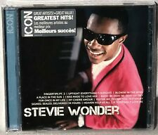 CD STEVIE WONDER Icon Greatest Hits (MOTOWN, 2010) NEW MINT SEALED