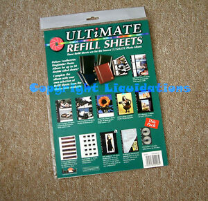 Innova Ultimate Refill Sheets [5 Pack]-CD holder-5 Double sided Sheets 20 Discs