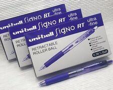 free ship 36 pcs UNI-BALL Signo RT UMN-138 Roller Ball pen Lavender BLACK ink
