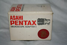 Asahi Pentax Microscope Adapter II with original packaging - Great condition