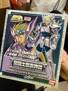 Used Bandai Saint Seiya Cloth Myth Perseus Argol Action Figure silver