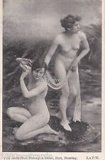 2 NUDE NAKED  WOMEN RISQUE - 745 Joshi Bros. Bazargate Street Fort, Bombay