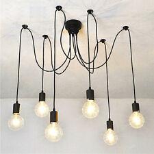 Modern Ceiling Light Living Room Black Pendant Lighting Office LED Chandelier