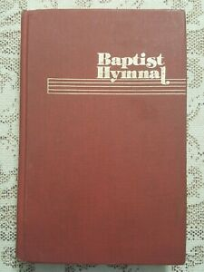 BAPTIST HYMNAL • 1975 Edition Hardback • Church Songbook • 575 pages .