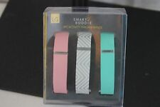Fit Bit Bands Activity Tracker 3 Pack For Use With Fit Bit Flex Smart Buddie NEW