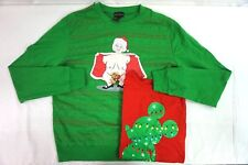 NEW Lot of 2 Womens Disney Tshirt & Flashing Mrs Clause Ugly Christmas Sweater L