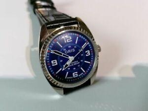 Handaufzug,mechanische,Mod.Oris, Herren Armbanduhr Swiss