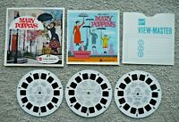 MARY POPPINS VIEWMASTER REELS 1964 WALT DISNEY SET B376 RARE COMPLETE   J170